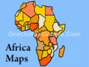 Africa Maps - Topography