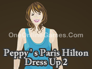 Peppy ' s Paris Hilton Dress Up 2
