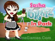 Sasha Bratz in Park